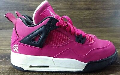 1336a685574d86 Air Jordan 4 Retro (GS) - 487724 601 size 3.5Y Valentines Day Voltage