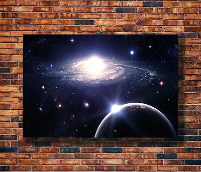 Art Galaxy Outer Space Nasa Universe -20x30 24x36in Poster - Hot Gift C1025
