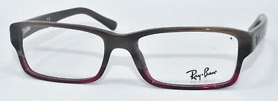 8329e0308a0 New Authentic Ray Ban Eyeglasses Rb5169 5541 Brown Red Gradient 54-16-140