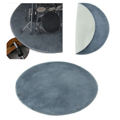 Shockproof Durable Round Drum Carpet Mat for Electronic Drum/Drum Kit