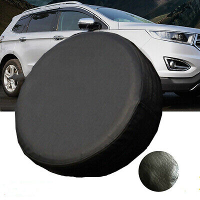 13inch Black Car Truck Van Rear Spare Tire Tyre Cover Wheel Cover