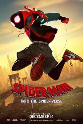 Spider-Man Into the Spider Verse LW-Canvas Poster 14x21 24x36 F-043 Movie Comic
