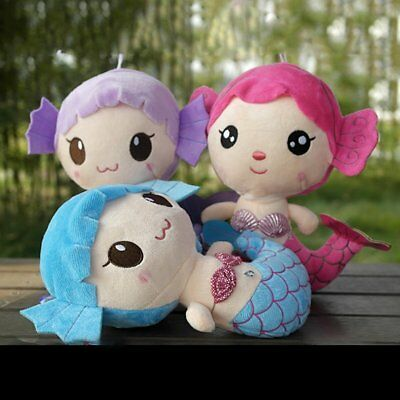 Plush Toys Gift For Baby Kids Girls Children Cute Lovely Mermaid Stuffed Doll XZ