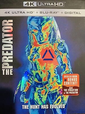 The Predator 4K Ultra HD Blu Ray And Digital Copy 2018