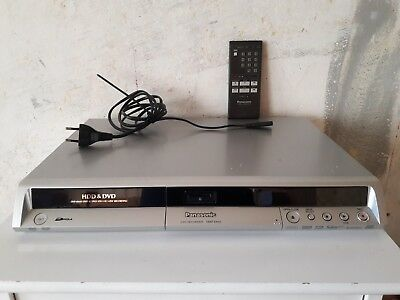 Panasonic DMR-EH55 - HDD/DVD Recorder - 200GB HDD with Cords and Remote