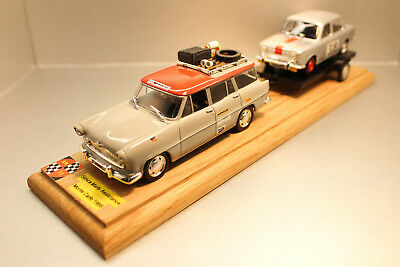 Am 71.creations Simca Marly Assistance + Plateau + Simca 1000 Monte Carlo 1/43.