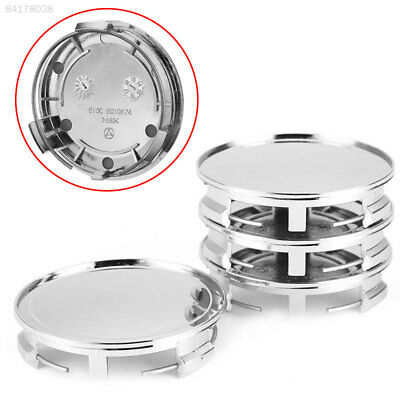 "E08A 4pcs 75mm 3"" Car Wheel Hub Center Cover for Mercedes Benz 1991-2015"