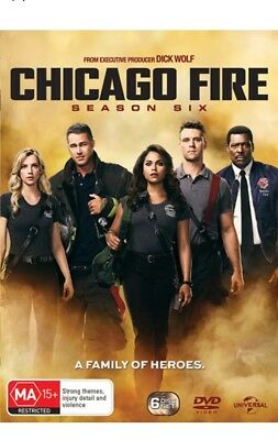 Chicago Fire : Season 6 (DVD, 2018, 6-Disc Set) Brand New Sealed Region 4