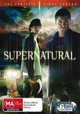 Supernatural : Season 1 (DVD, 6-Disc Set) NEW