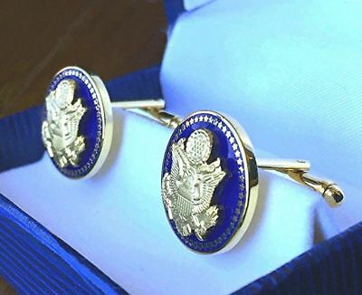 Hi End Blue Senatorial 50 Star Cufflinks Senate/Congress/House - Presidential