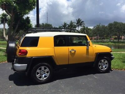 2008 Toyota FJ Cruiser  2008 Pristine Yellow FJ Cruiser Garage Kept-One Owner