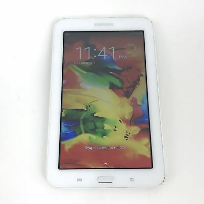 Samsung Galaxy Tab 3 Lite SM-T110 8GB - Wi-Fi, 7 in - White Android Tablet RR