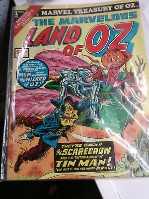 1975..#1  Marvel Treasury Of Oz-The Marvelous Land Of Oz-Wizard of OZ comic book