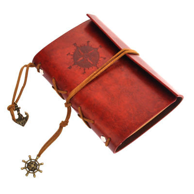 Vintage Classic PU Leather Journal Travel Notepad Notebook Win Red Diary Hot