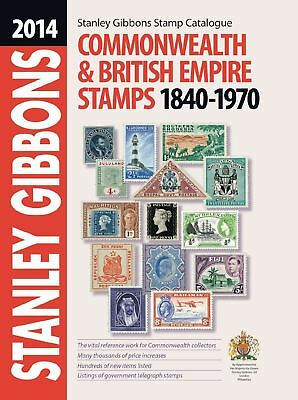 Stanley Gibbons Stamp Catalogue Commonwealth & British Empire Stamps 1840-1970