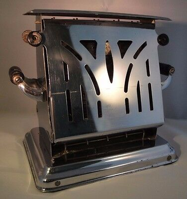 Antique Vintage Toaster Dominion Electircal Mfg. Co. Chrome Works