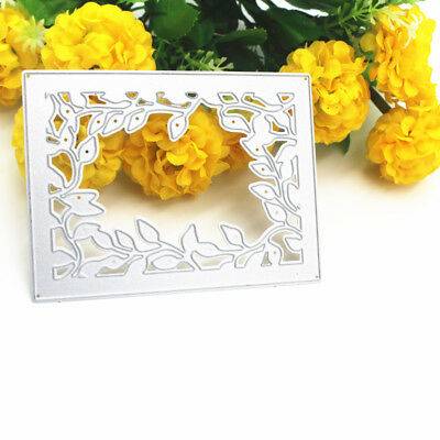 Card Frame Lace DIY Dies Stencil Cutting Embossing Scrapbooking Craft