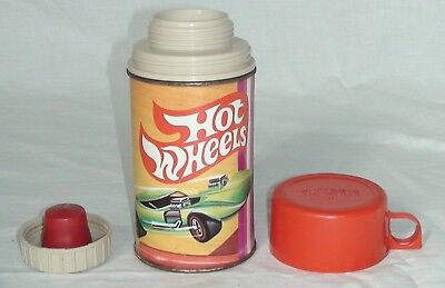 1969 Hot Wheels Thermos Red Cap Half Pint No. 2804 Complete with stopper