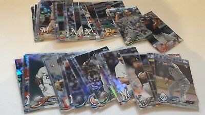 2018 Topps Update Series Rainbow Foil Parallel US1-300 UPick From List Lot