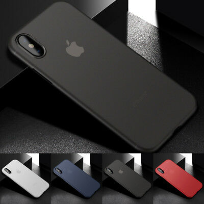 For iPhone X XS MAX XS Ultra-Thin Silm Air Skin Clear Protection Cover Case Fast