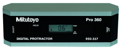 Mitutoyo 950-317 Digital Protractor Precision Level Without Data Output