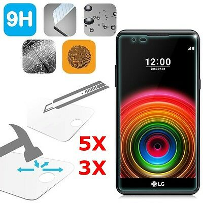 Thin HD Premium Tempered Glass Screen Protector Film Guard For LG X Power 5.3""