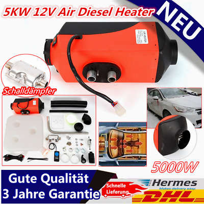 Nuovo 5kw 12v Air Diesel Heater Riscaldatore Auto Camion Boat Similar to Webasto