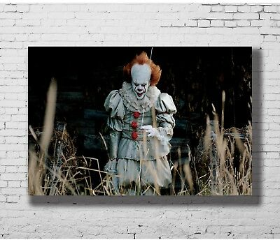 24x36 14x21 40 Poster Movie It Pennywise Stephen King Art Hot P-932