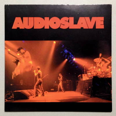 Audioslave Chris Cornell - Show Me How To Live - 7 Red Vinyl Single