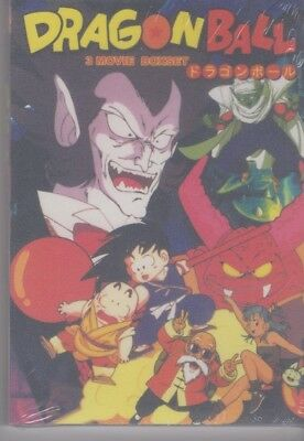 Dragon Ball GT Uncut Movie 1-3 DVD Collection | OOP RARE | English Audio