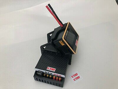 XTREME RACING CARBON FIBER X6 iCHARGER STAND SERVER POWER SUPPLY RTR TRAXXAS