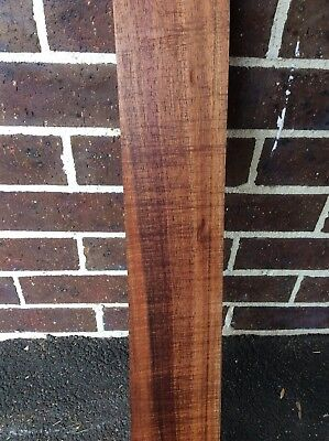 Blackwood Fiddleback Luthier, Craft. Timber. Slab, Wood  Blank. #BLfb
