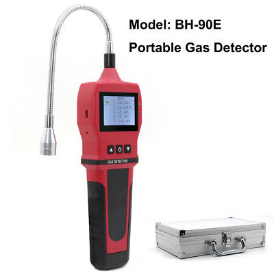 LCD Gas Leak Detector Natural Gas Methane Combustible Tester Analyzer Alarm Tool