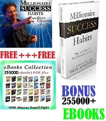 Millionaire Success Habits ebook PDF + 255000+ bonus ecollectiion pdf MRR free s