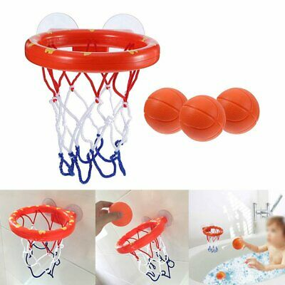 Kids Bath Toys Basketball Hoop & Ball Bathtub Water Play Set for Baby Girl Boy S