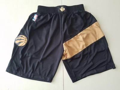Toronto Raptors NBA Basketball New season Shorts Men's Pants NWT Stitched
