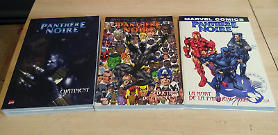 La Panthere Noire. Marvel Monster Tome 1 - 2 - 3 / C.neuf