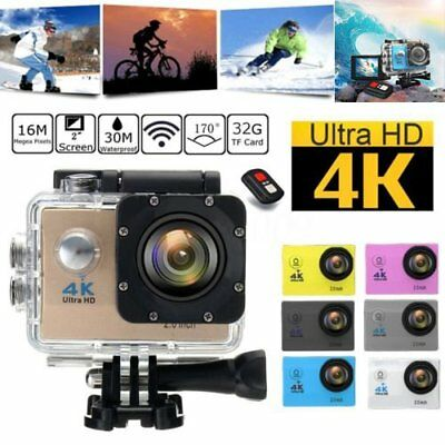 F60R Wifi 4K 1080P Ultra HD Sport Action Camera DVR Camcorder Waterproof