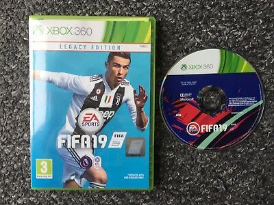 FIFA 19 Legacy Edition - Xbox 360 - Very Good Condition - Fast Dispatch