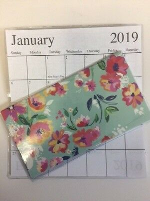 1-2019-2020  WATERCOLOR MULTI COLOR 2 Year  Pocket Calendar planner