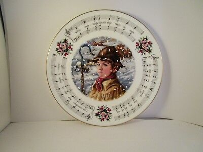Royal Doulton Christmas Carols While Shepherds Watched Collector Plate