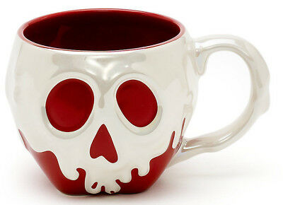 Official Disney Store Snow White Poison Apple Large 3D Mug Cup Halloween NEW