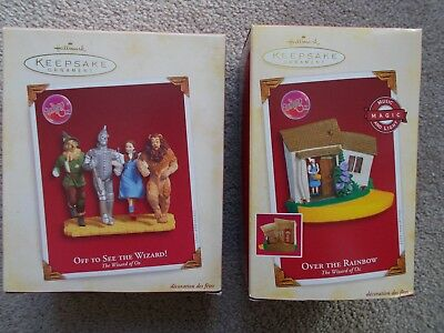 Hallmark Keepsake - Wizard of Oz - Off To See The Wizard and Over The Rainbow