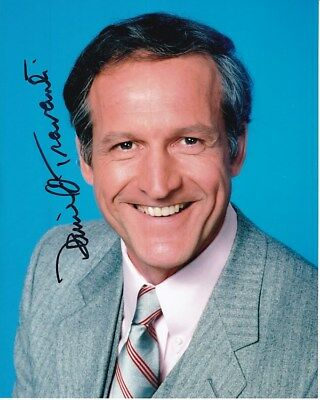 DANIEL J  TRAVANTI Actor Autographed/Signed 8X10 Photograph