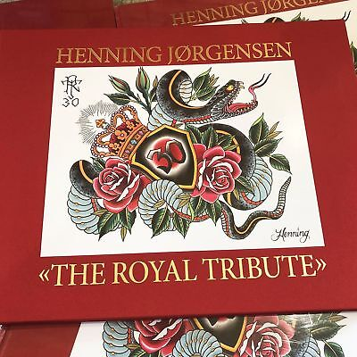 Henning Jorgensen - The Royal Tribute - Japanese Tattoo Flash Book