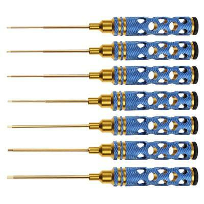 Blue Hollow Handle Hex Screwdriver Tool Set for RC Helicopter Repair Tools