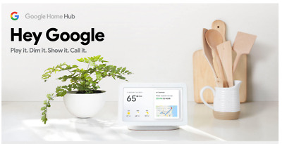 Google Home Hub with Google Assistant Chalk Simplify Your Life Create Smart Home