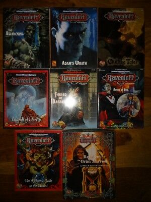 AD&D 2nd Edition -Ravenloft- Various modules to choose from (AD&D TSR)