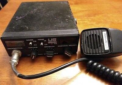 US MARINE Citizen Band Transceiver Vintage CB Radio/PA Model No.BAY 40 AUDIOVOX