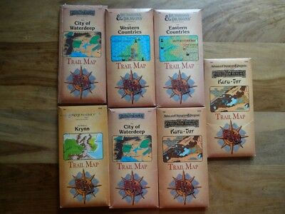 Trail Map - NEW SEALED & still in SHRINK WRAP and used good to very good (D&D)